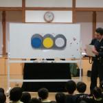 大きなパネルで信号について教えてもらいました。