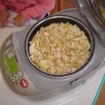 筍ご飯作り4
