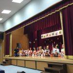 こあら組の音楽遊び「山の音楽家」です。歌、セリフ、スキップとお兄さん・お姉さんらしさを感じました。