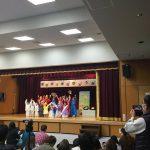きりん組の劇「じごくのラーメンや」です。練習から一生懸命取り組み、本番は大成功でした。