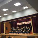 全クラスの歌「ふしぎなポケット」です。発表会の最後にふさわしい大合唱でした。