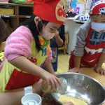 大豆が粉に変わっていたので驚いていました。