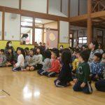 訓練後、先生の話を集中して聞くことができました。