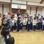 きりん組のお友達に向けて、ぱんだ組とこあら組で「おひさまになりたい」を歌いました。