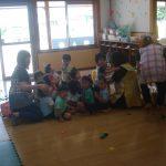 各クラスでも、教室の中央へ集まり安全を確保しました。