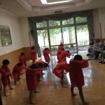 男の子が迫力のあるソーラン節を踊りました。