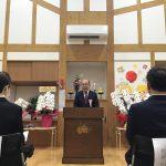 高浜町教育委員会教育長様にご祝辞を頂きました。