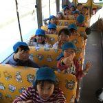 園バスに乗って、丸山公園へ行きました。楽しみにしていたのでバスの中は、大はしゃぎでした。