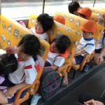 帰りのバスは疲れぐっすり寝ていました。