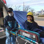 実際に救急車に乗せてもらう体験もしました。貴重な体験ができました。