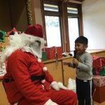 サンタさんに質問もしました。