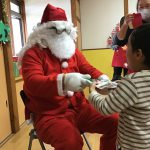 元気にお礼を言うことができ、サンタさんも喜んでくれました。