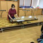 出し物は、琴の演奏をしました。