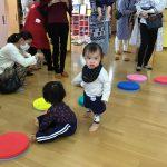 子どもたちの好きな運動あそびも楽しみました。