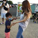 親子で、ハム太郎音頭も踊りました。