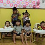 9月は、6名のお友だちがお誕生日を迎えました。 お誕生日おめでとう!